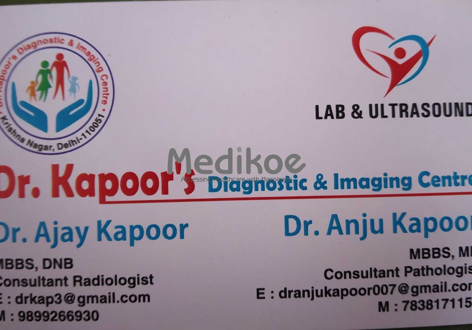 Dr. Ajay Kapoor