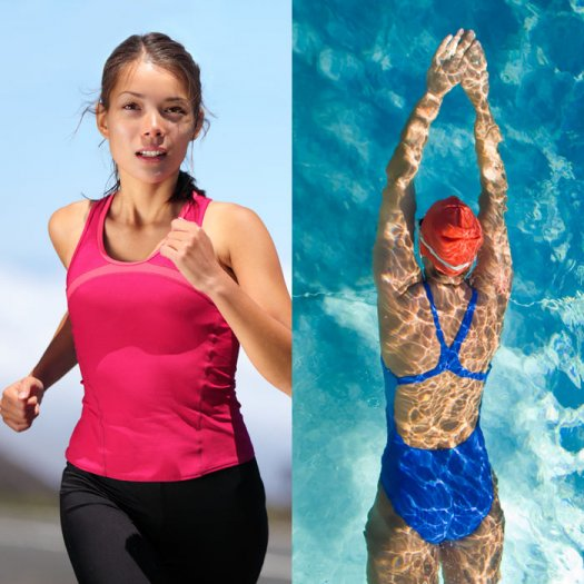 Swimming or Running, Which Is Better?