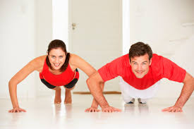 At home muscle building exercises