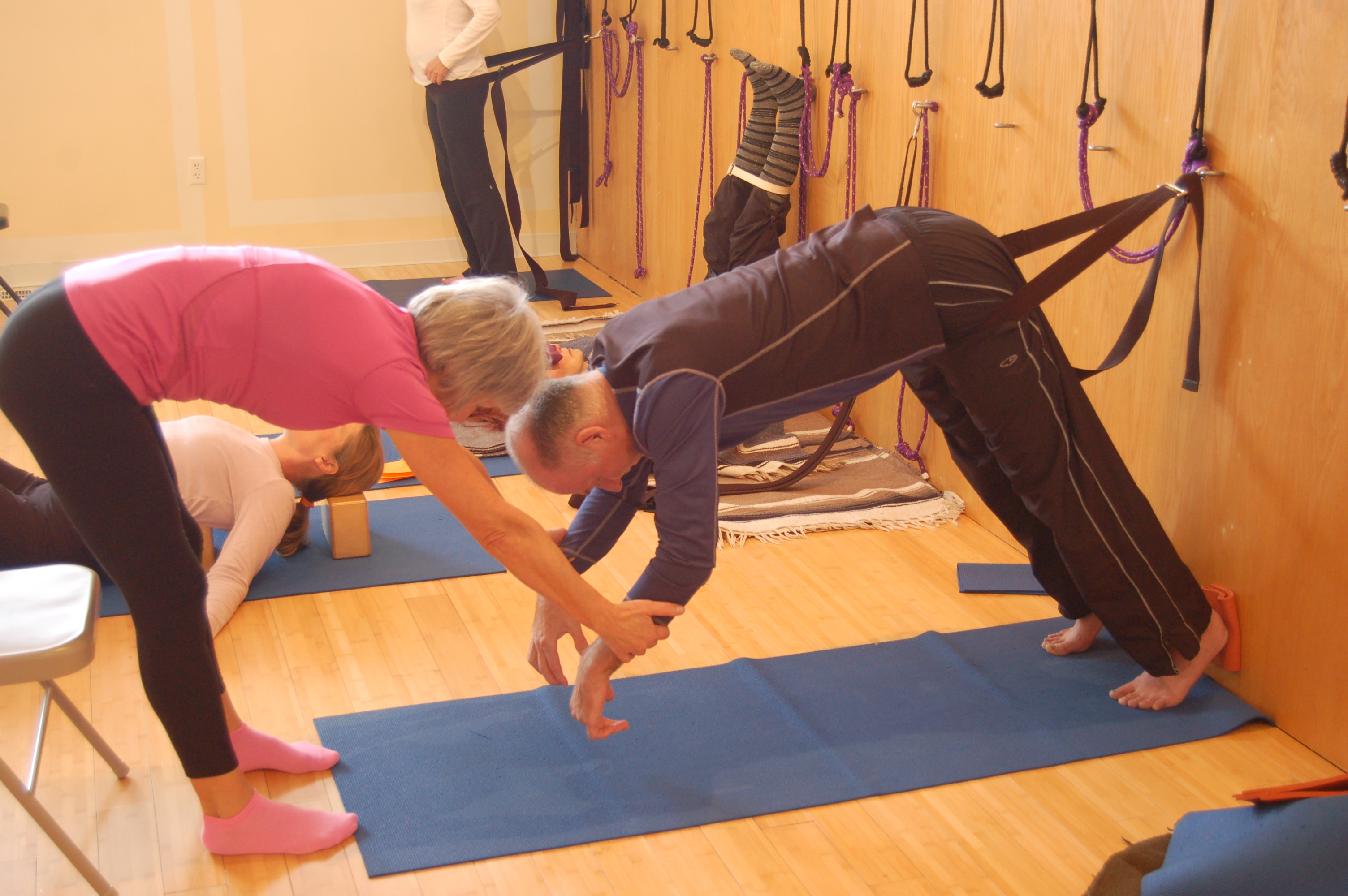 How does yoga aid in post-stroke recovery?