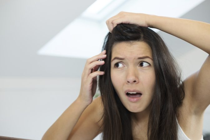 Is your hair greying early?