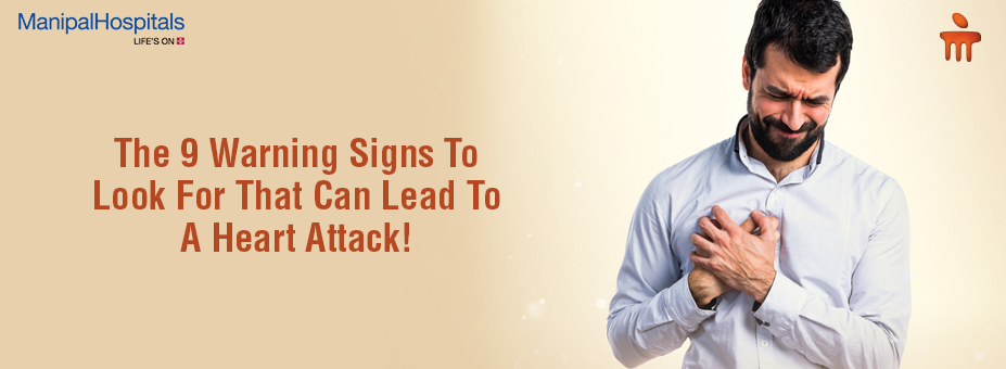 The 9 Warning Signs To Look For That Can Lead To A Heart Attack!