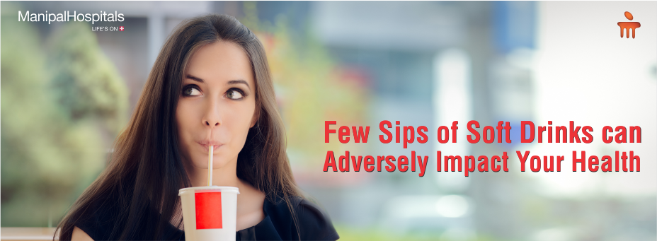 Few Sips Of Soft Drinks Can Adversely Impact Your Health