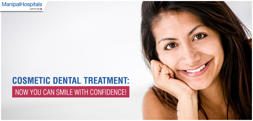Cosmetic Dental Treatment: Smile with Confidence!