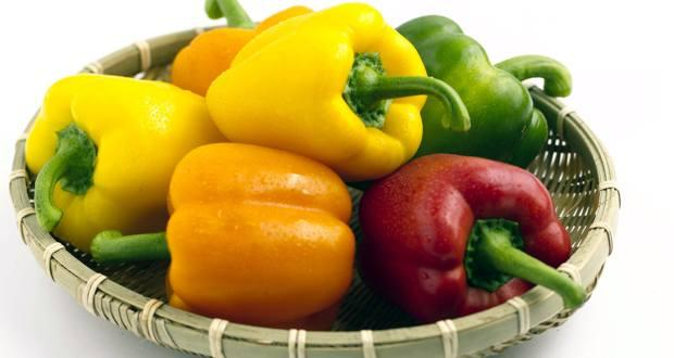 Health Benefits Of Bell Pepper aka Capsicum aka Shimla Mirch