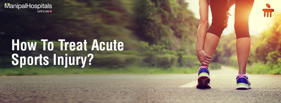 How To Treat Acute Sports Injury?