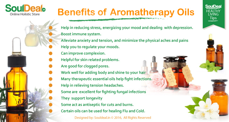 BENEFITS OF AROMATHERAPY OIL