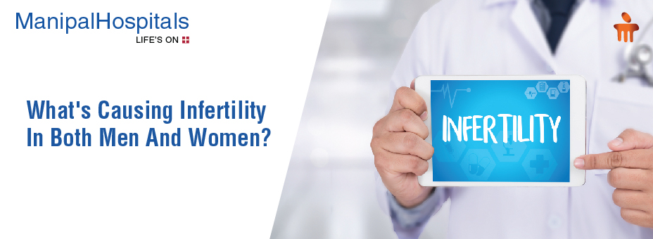 What's Causing Infertility In Both Men And Women?