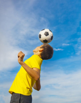 Heading in Soccer Causes Cognitive Impairment