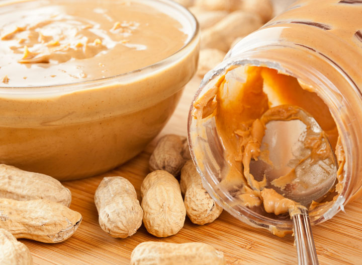 THE HEALTHY SIDE TO PEANUT BUTTER