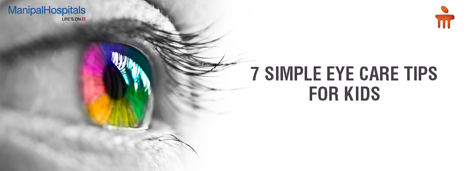 7 Simple Eye Care Tips for Kids