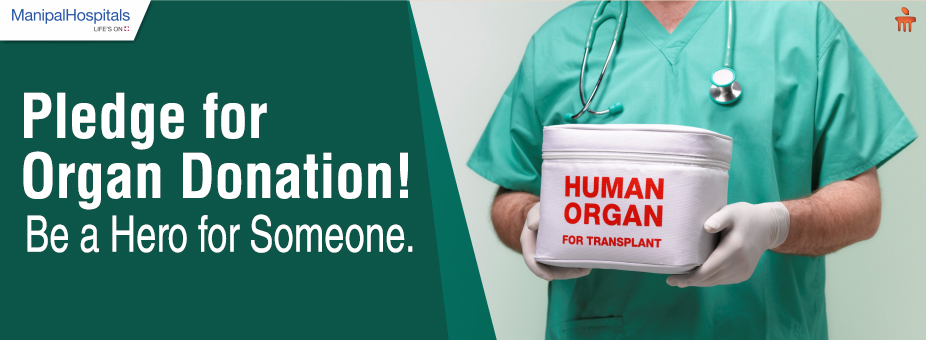 Pledge for Organ Donation! Be a Hero for Someone!