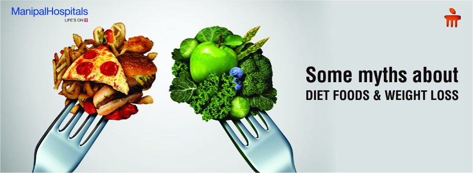 Some Myths About Diet Foods And Weight Loss