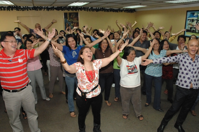 Laughter Yoga Programs for Companies and Corporations