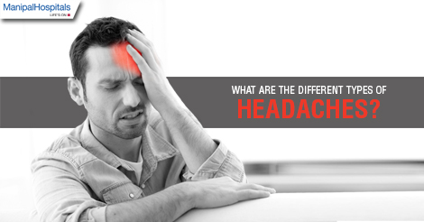 What are the different types of Headaches?