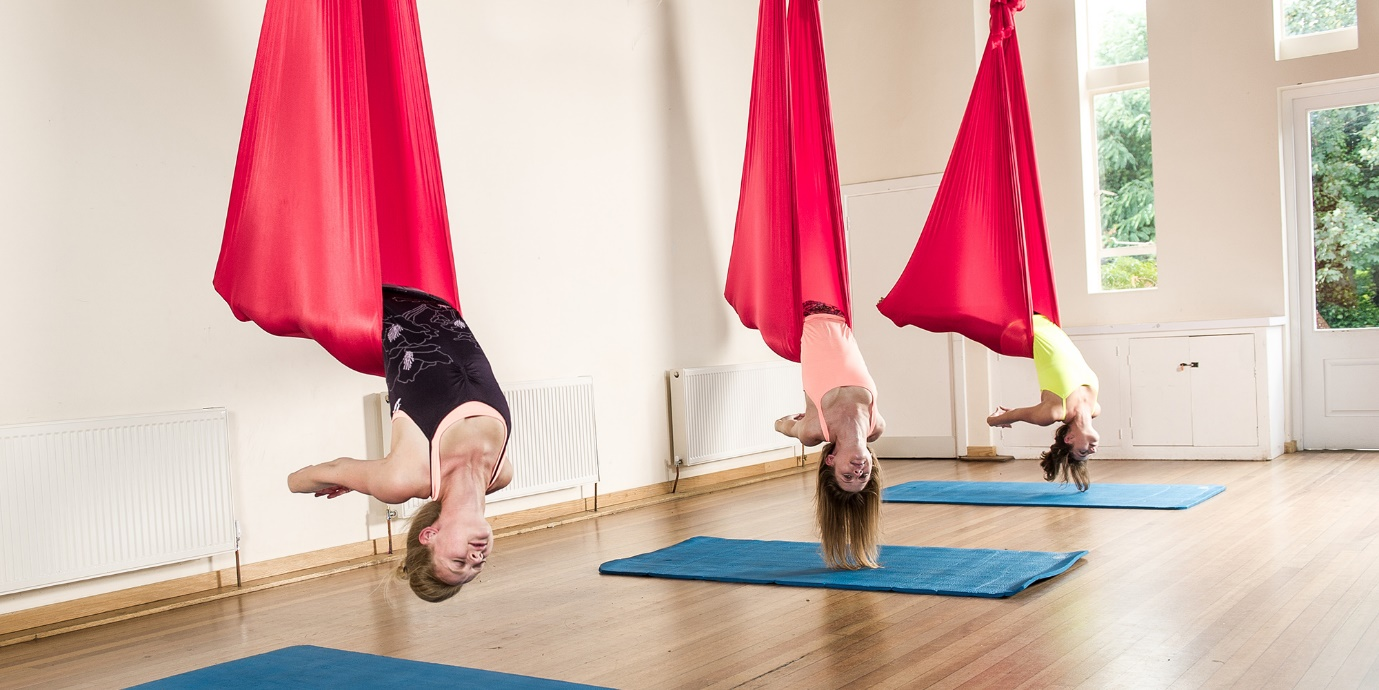 BENEFITS OF AERIAL YOGA