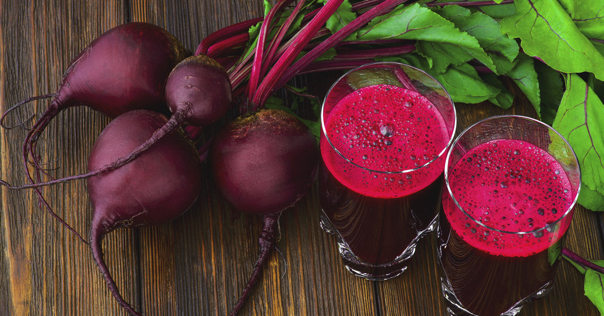 HEALTH BENEFITS OF DRINKING BEETROOT JUICE