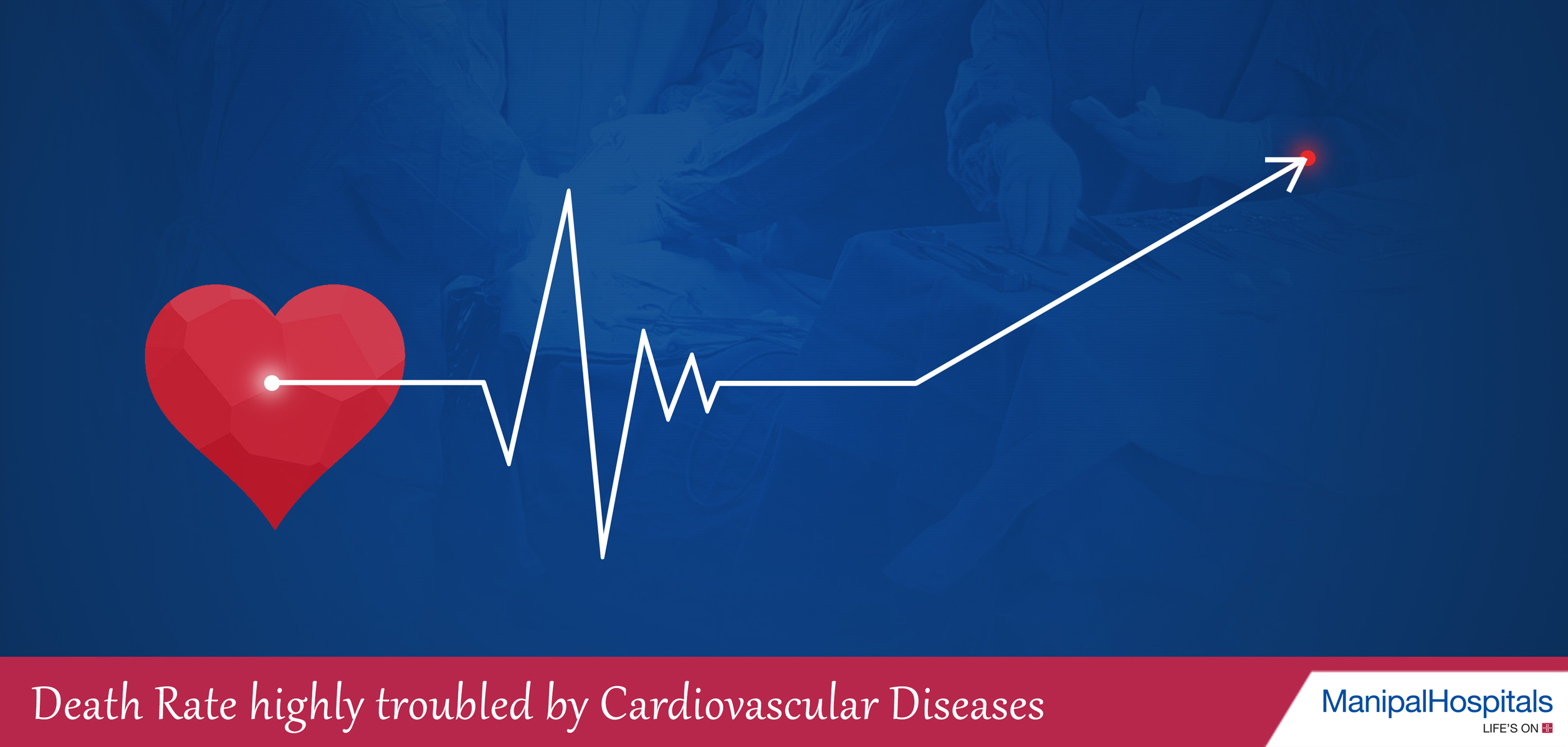 Death Rate: Highly troubled by Cardiovascular Diseases