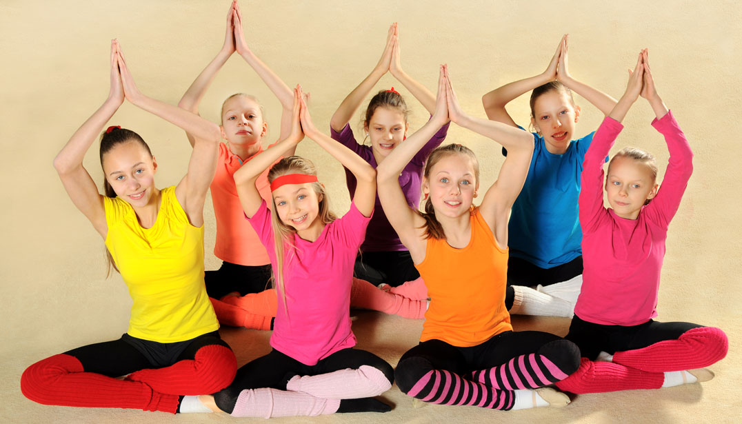 Overall effect of yoga in children