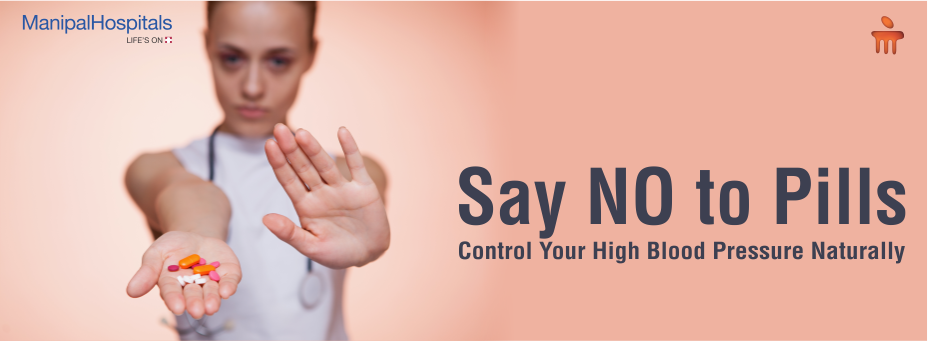Say No to Pills – Control Your High Blood Pressure Naturally!