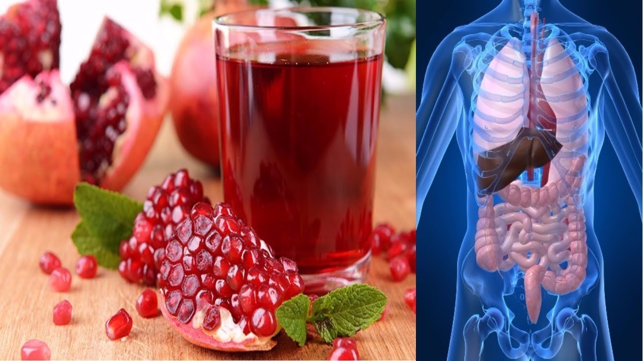 Pomegranate Strengthens Your Heart And Liver