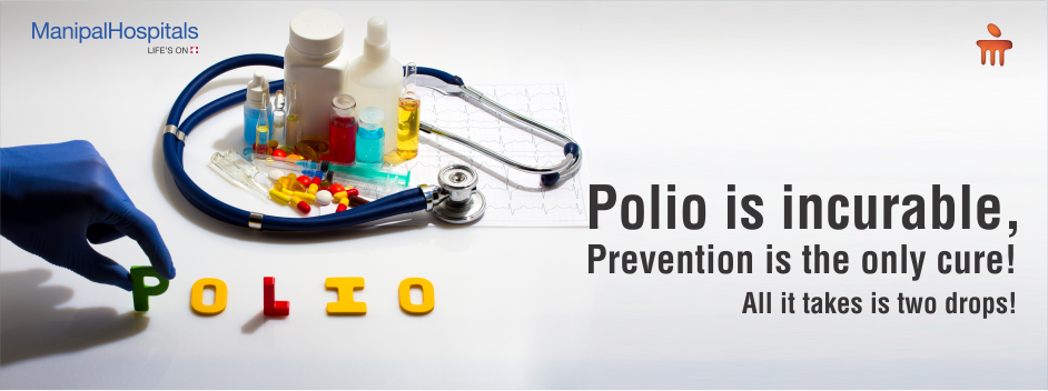 Polio Is Incurable, Prevention Is The Only Cure! All It Takes Is Two Drops