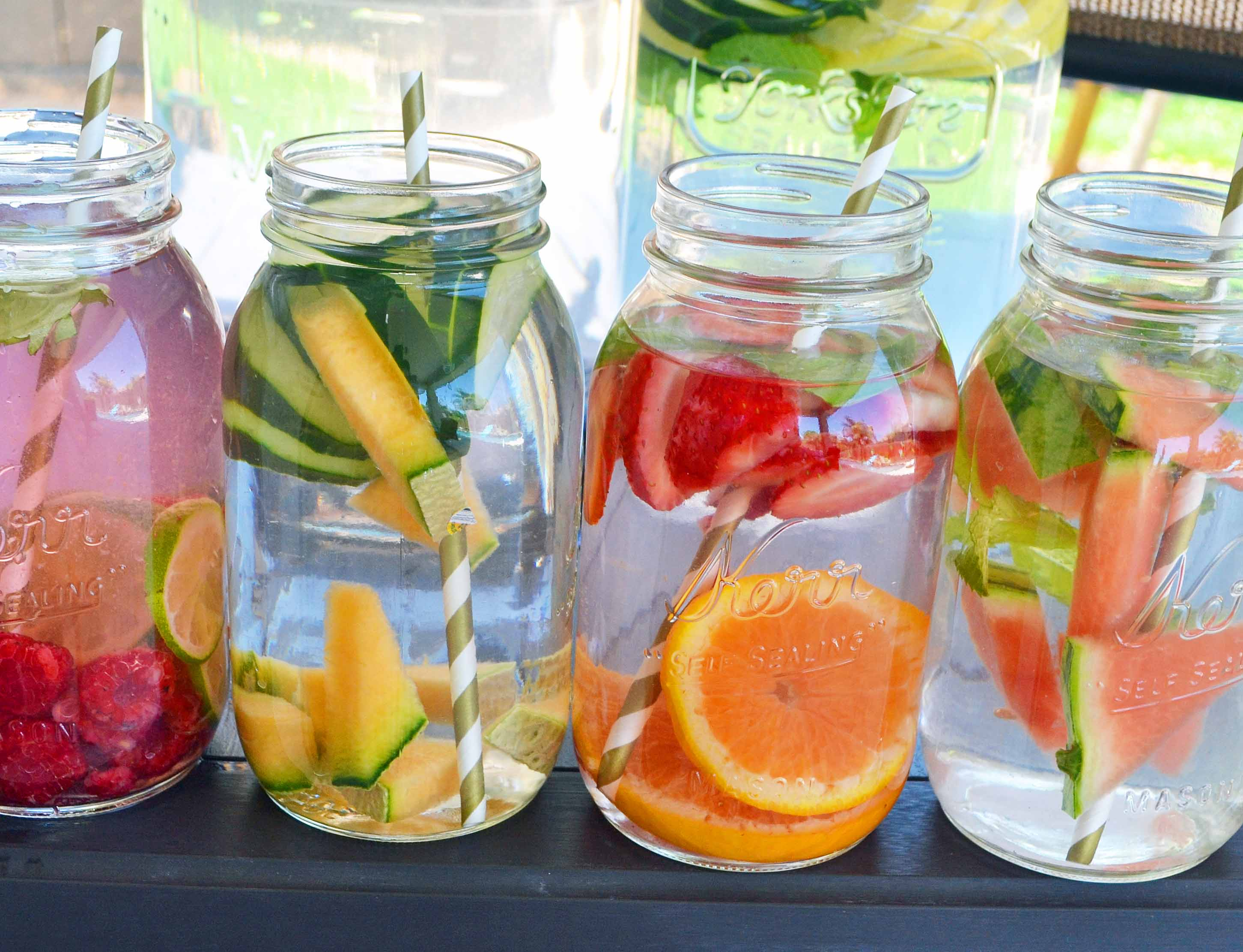 Detox water for the summer