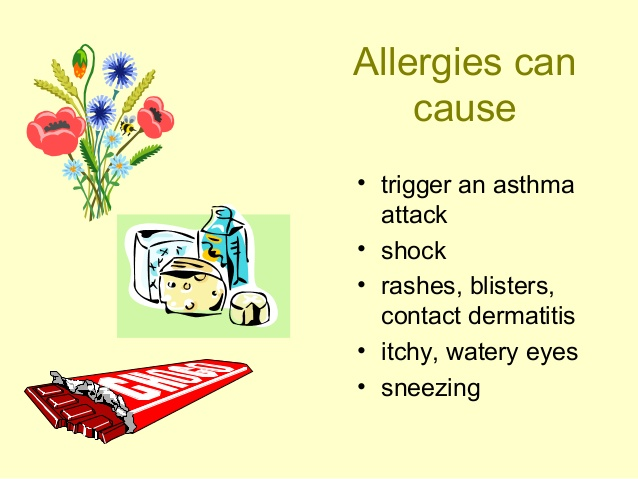 Can Insecticides can cause allergies