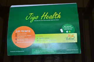 Jiyo Natural - Healthy Meal Review