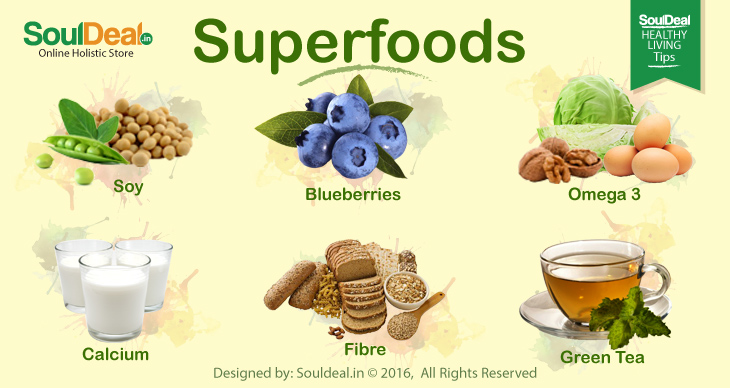 6 Top superfoods to keep you healthy
