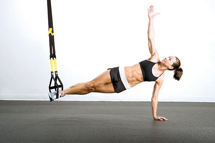 TRX Workout Moves to Eliminate Every Bulge