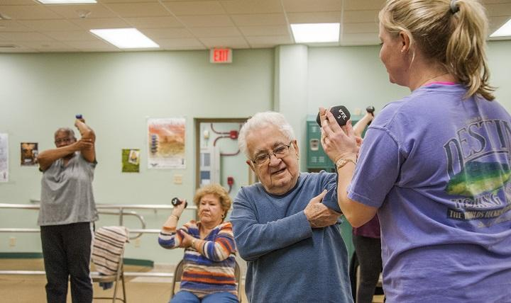 Benefits of physiotherapy for older people