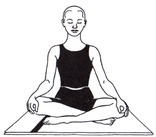 Sukhasana (easy pose)-Less is More- Key to a Steady Yoga Practice