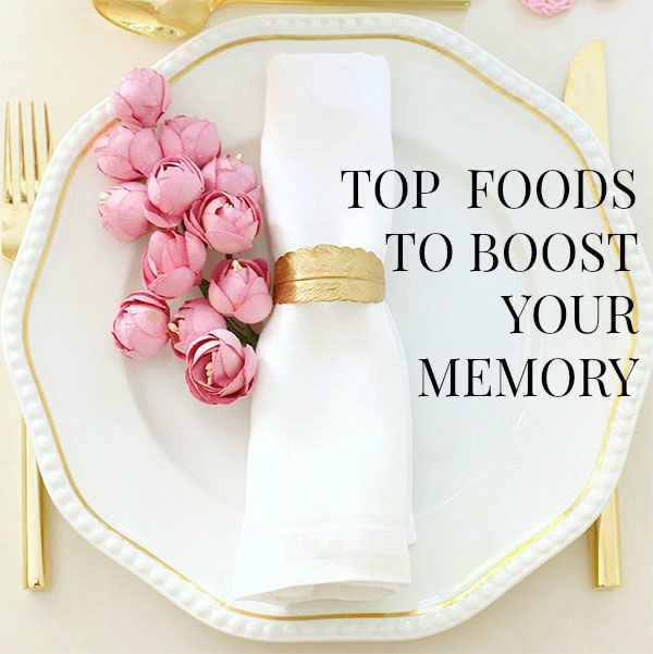 Eat These Foods To Boost Your Memory & Improve Brain Function
