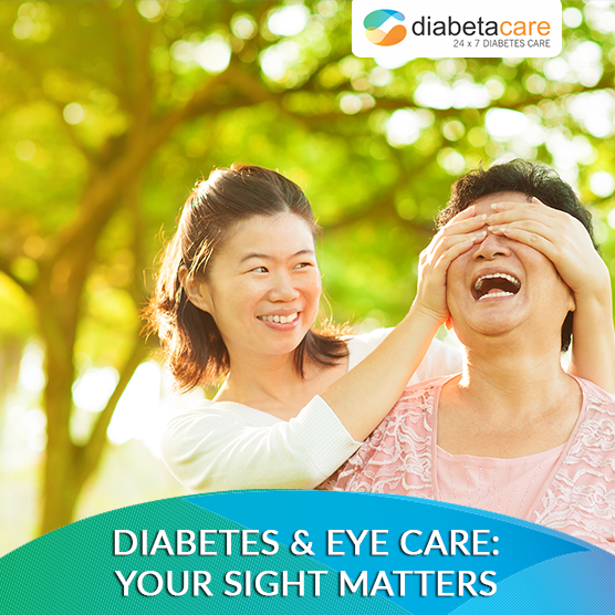 DIABETES & EYE CARE: YOUR SIGHT MATTERS