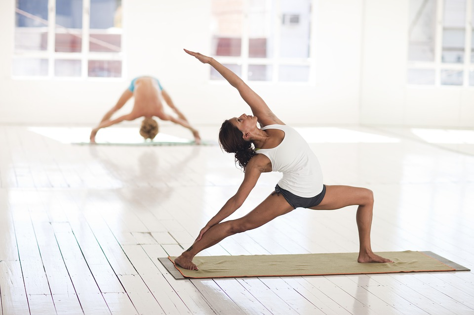Improving digestion with yoga