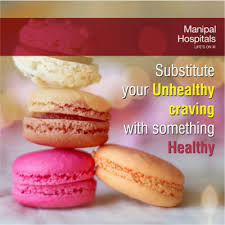 Substitute your Unhealthy craving with something Healthy