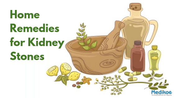 home remedy for kidney stones