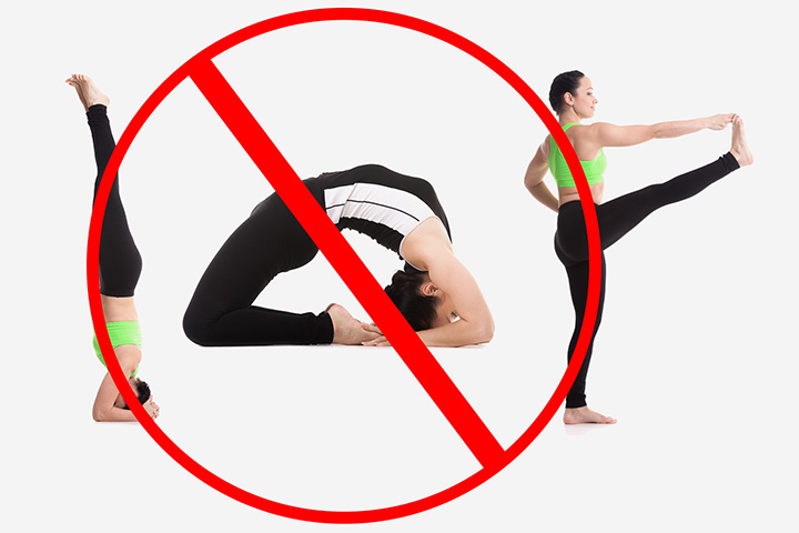 Yoga Poses to Avoid in pregnancy