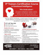 9th Trainers Certification Course in Emotional Intelligence