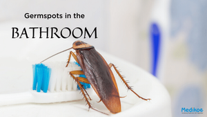 Germ Spots in the Bathroom