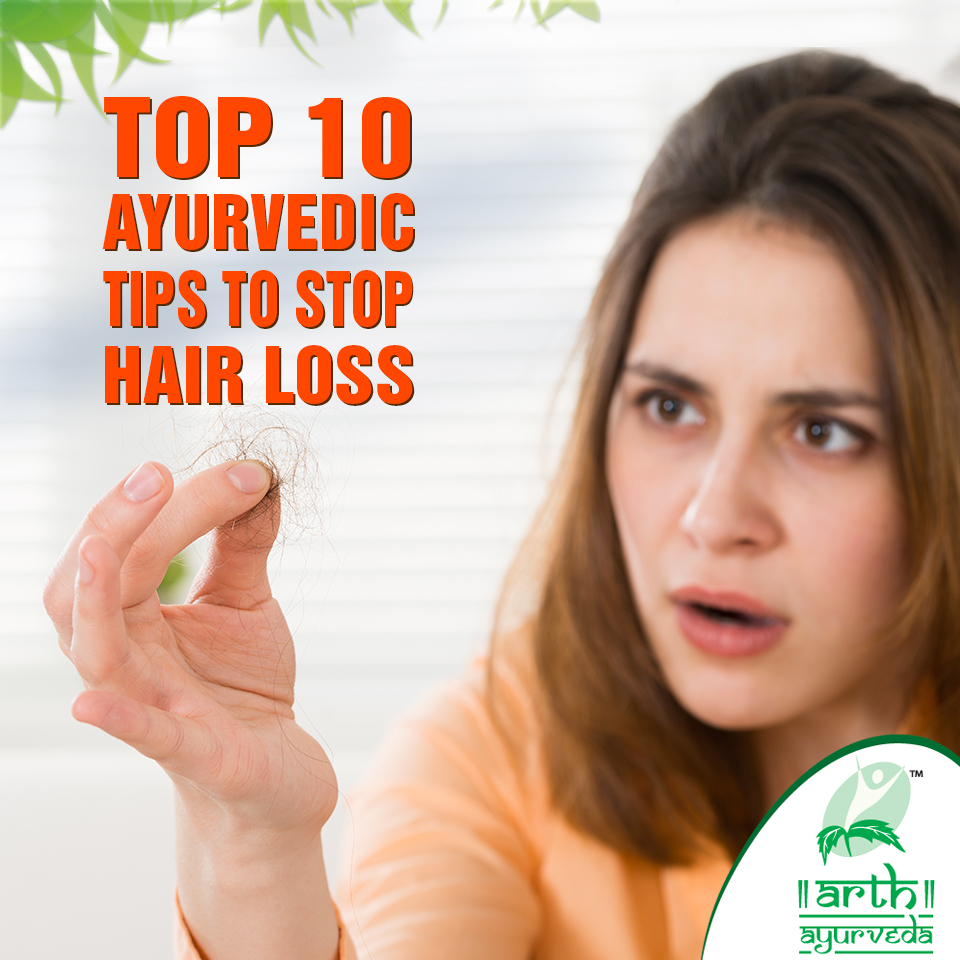 Ayurvedic Tips to Stop Hair loss