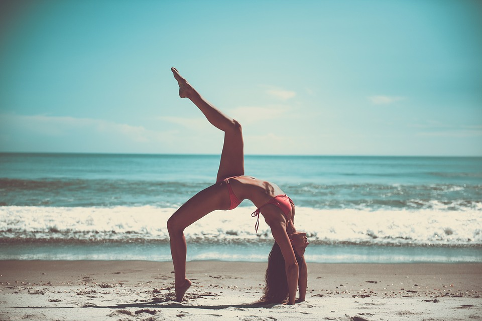 De-stress yourself with yoga.