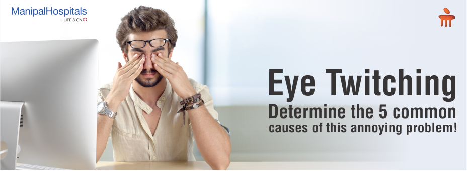 Eye Twitching: Determine the 5 common causes of this annoying problem!