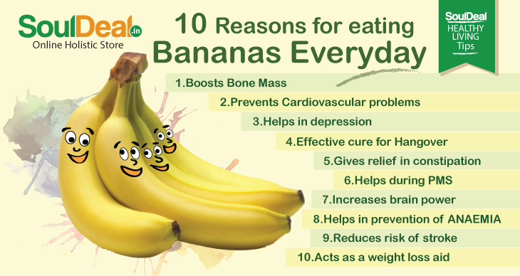 10 Reasons for eating banana everyday