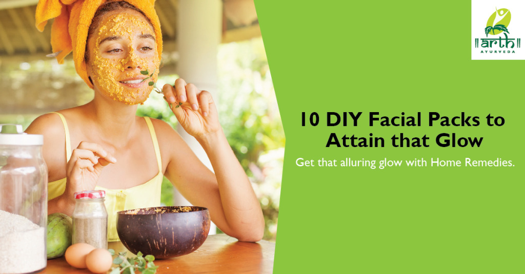 10 Homemade Facial Packs for Glowing Skin
